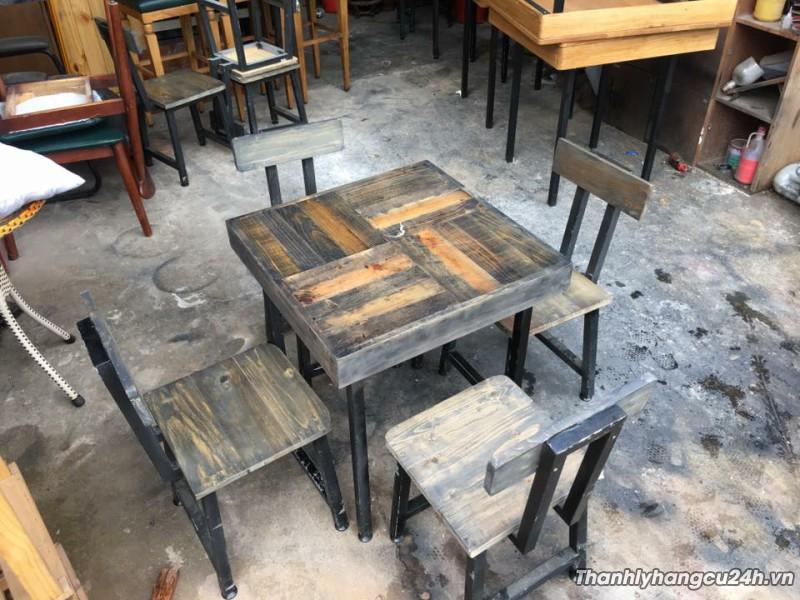 Bàn ghế cafe kiểu 0001