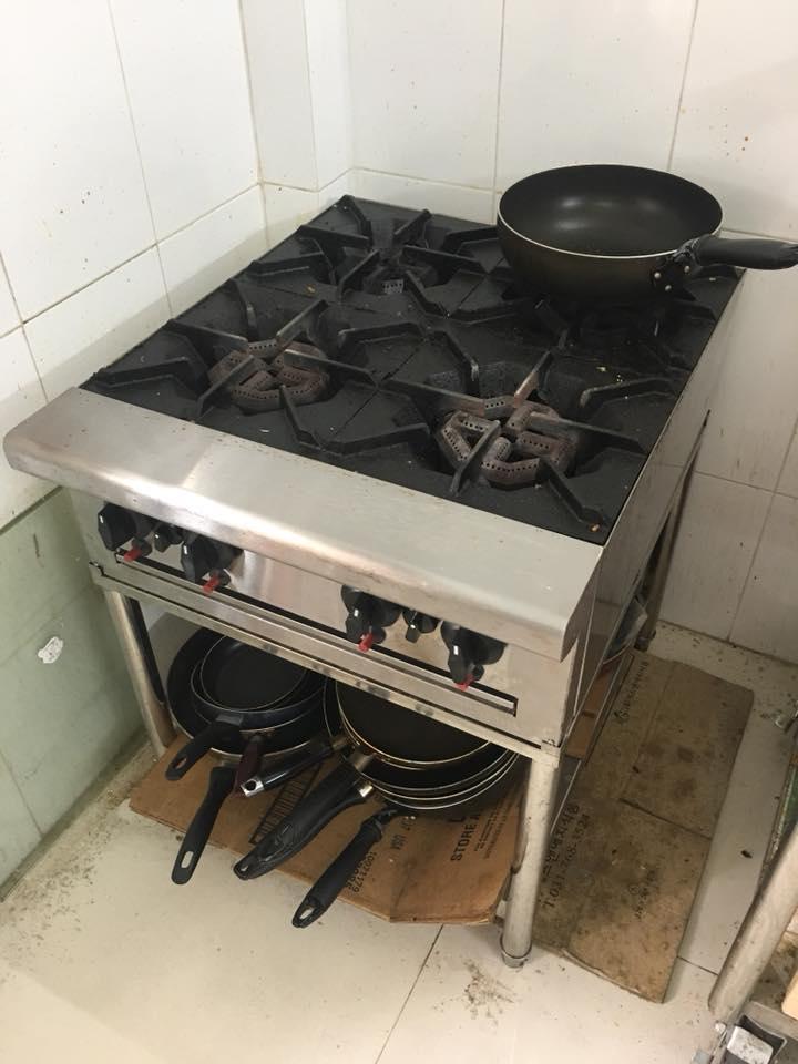 Bếp âu nhà hàng thanh lý