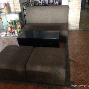 Thanh lý sofa vải quán cafe